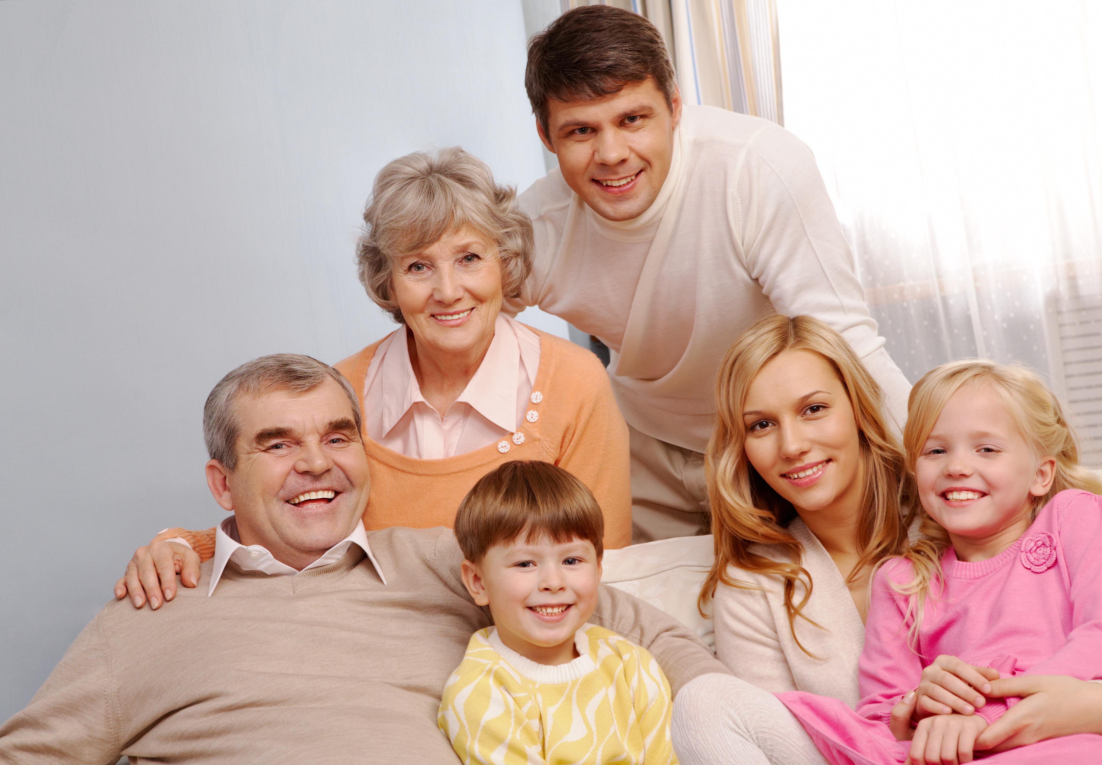 seniors famille génération